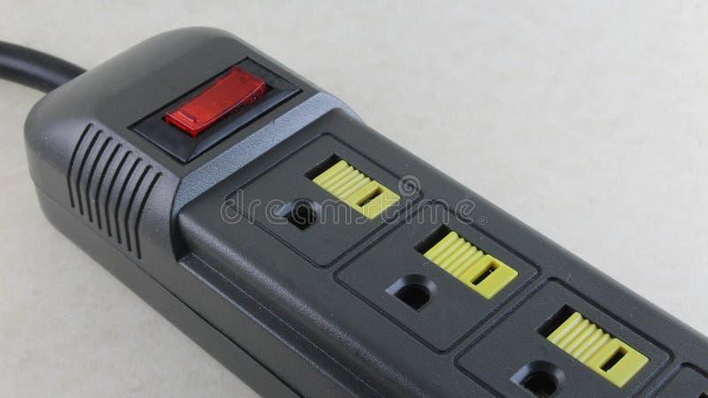 Βούλωμα για τις διάφορες ηλεκτρικές συσκευές στοκ φωτογραφία