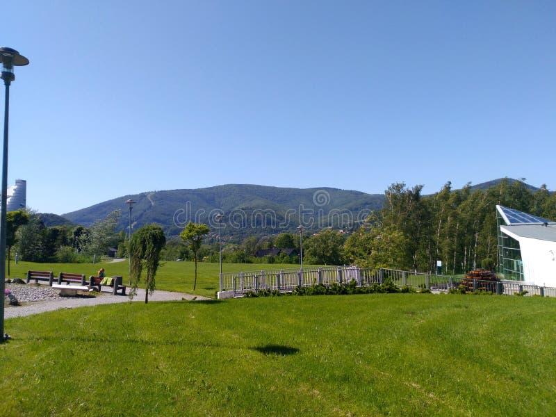 Βουνά στην Ευρώπη το καλοκαίρι στοκ φωτογραφίες