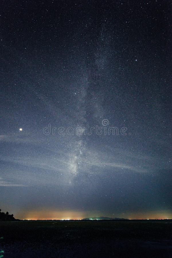 Γαλαξίας της Κίνας σε Taihu JiangSu στοκ εικόνα