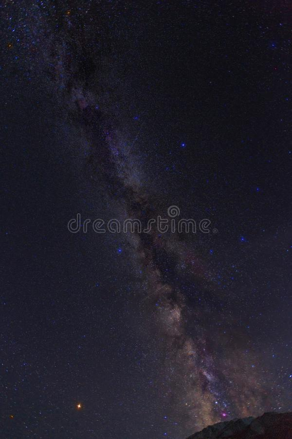 Γαλαξίας Kanas στο xinjiangï ¼ ŒVery όμορφο και που γοητεύει στοκ εικόνες