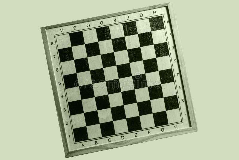 Γαρμένος πίνακας σκακιού στοκ φωτογραφίες
