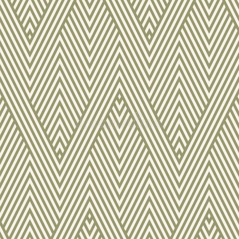 γεωμετρικό άνευ ραφής διάνυσμα προτύπων Φυσική οργανική σύσταση με τις γραμμές, λωρίδες διανυσματική απεικόνιση