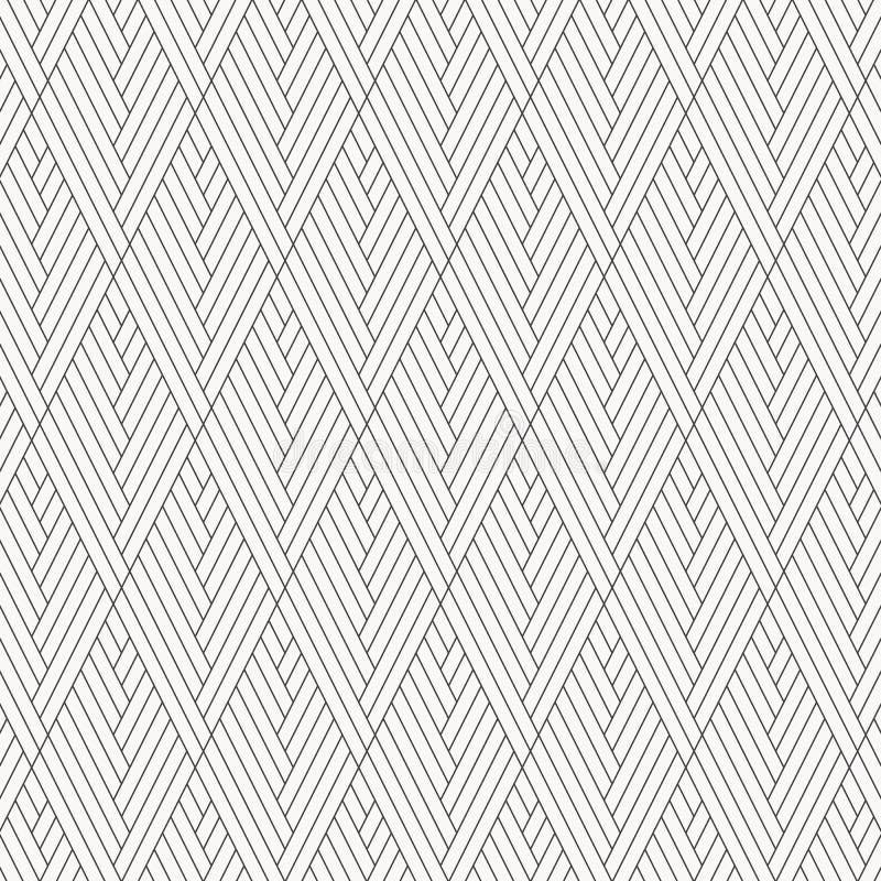 Γεωμετρικό διανυσματικό σχέδιο, που επαναλαμβάνει την τετραγωνική μορφή διαμαντιών με τη γραμμή λωρίδων γραφικός καθαρός για το ύ διανυσματική απεικόνιση