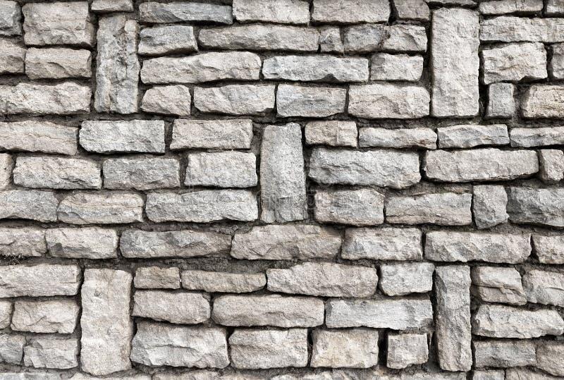 Γκρίζα σύσταση τοίχων πετρών σχεδίων στοκ φωτογραφίες με δικαίωμα ελεύθερης χρήσης