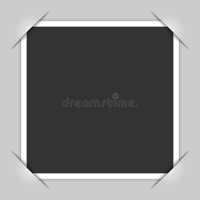 γκρίζα φωτογραφία απεικόνισης πλαισίων σχεδίου γωνιών ανασκόπησης απεικόνιση αποθεμάτων