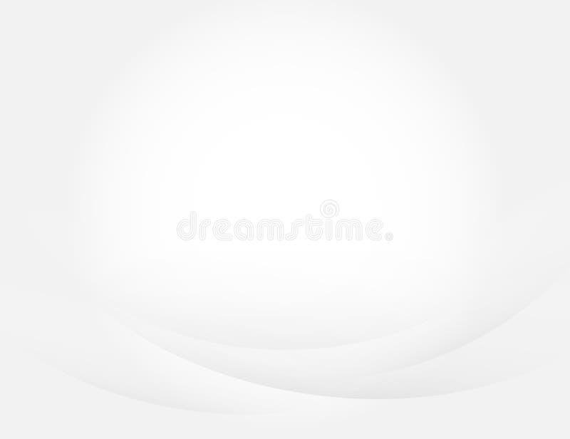 Γκρίζο αφηρημένο διανυσματικό λεπτό υπόβαθρο έννοιας καμπυλών απεικόνιση αποθεμάτων