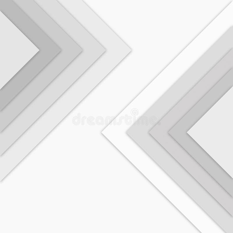 Γκρίζο τετραγωνικό υπόβαθρο σχεδίων ελεύθερη απεικόνιση δικαιώματος
