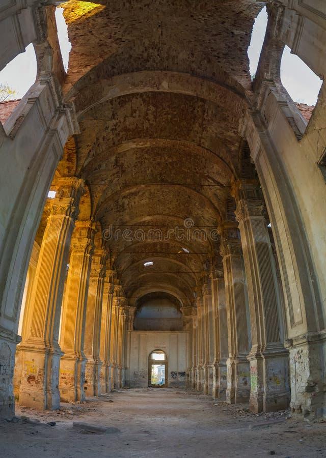 Εγκαταλειμμένη καθολική εκκλησία Zelts, Ουκρανία στοκ εικόνα