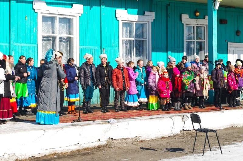 Εθνικό πάρκο Tunkinsky κοντά Baikal στοκ εικόνες με δικαίωμα ελεύθερης χρήσης