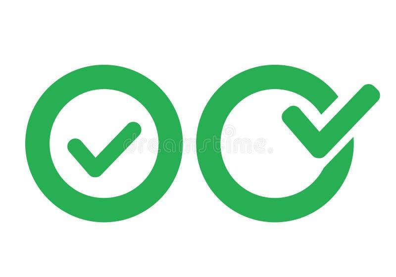 Εικονίδιο σημαδιών ελέγχου ελεύθερη απεικόνιση δικαιώματος