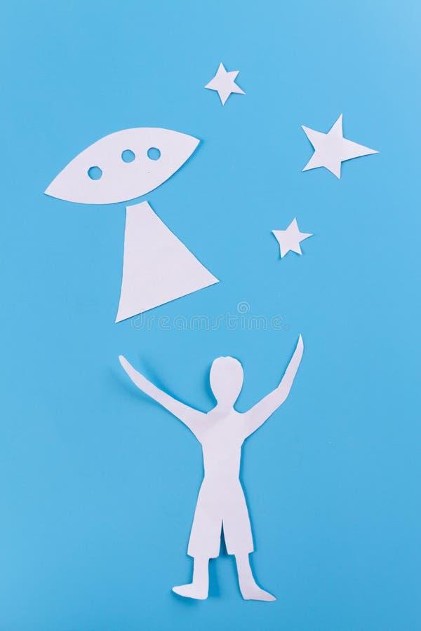 Εικόνα έννοιας UFO στοκ φωτογραφίες με δικαίωμα ελεύθερης χρήσης