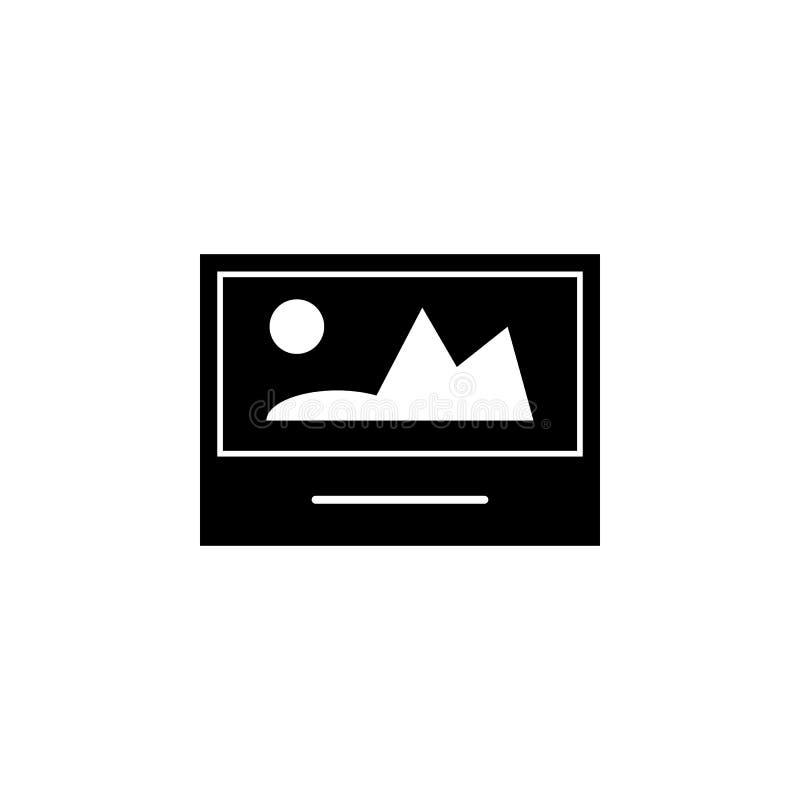 Εικόνα, εικονίδιο φωτογραφιών Τα σημάδια και τα σύμβολα μπορούν να χρησιμοποιηθούν για τον Ιστό, λογότυπο, κινητό app, UI, UX διανυσματική απεικόνιση