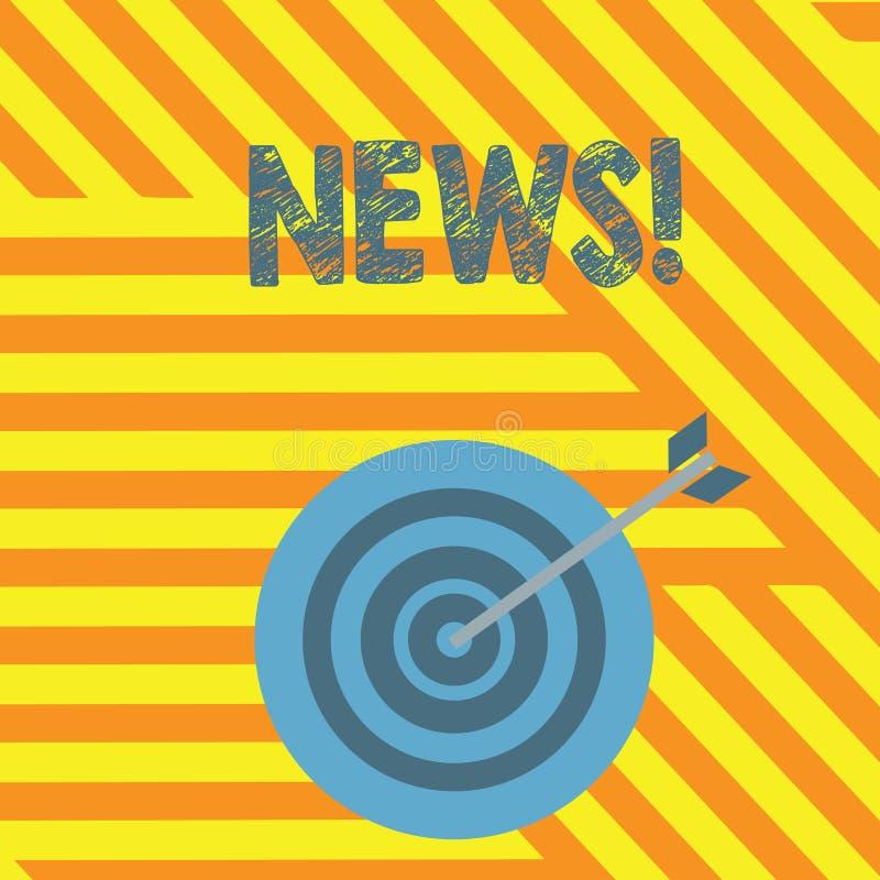 Ειδήσεις γραψίματος κειμένων γραφής Έννοια που σημαίνει την έκθεση ραδιοφωνικής μετάδοσης MEDIA πληροφοριών πρόσφατων γεγονότων τ ελεύθερη απεικόνιση δικαιώματος