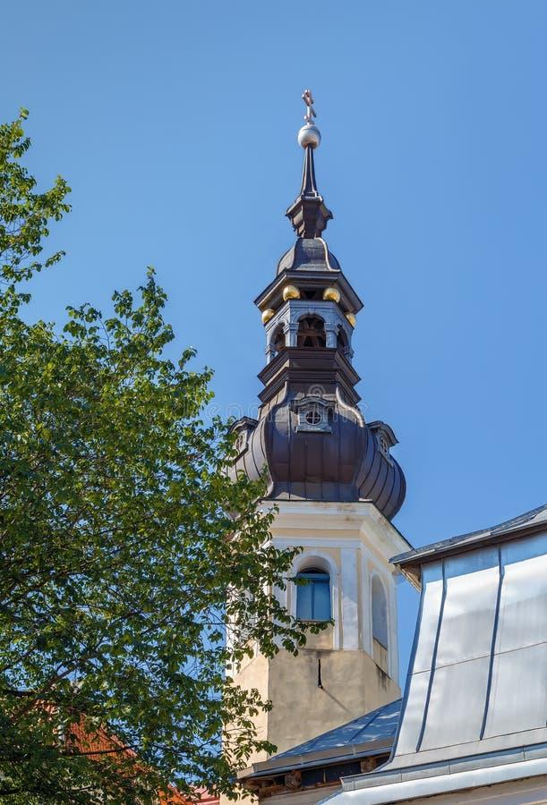 Εκκλησία της μεταμόρφωσης του Λόρδου μας, Ταλίν, Εσθονία στοκ εικόνα