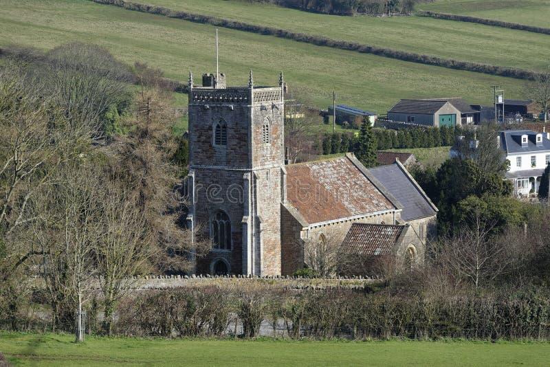 Εκκλησία του ST Andrews, Compton επίσκοπος στοκ φωτογραφία με δικαίωμα ελεύθερης χρήσης