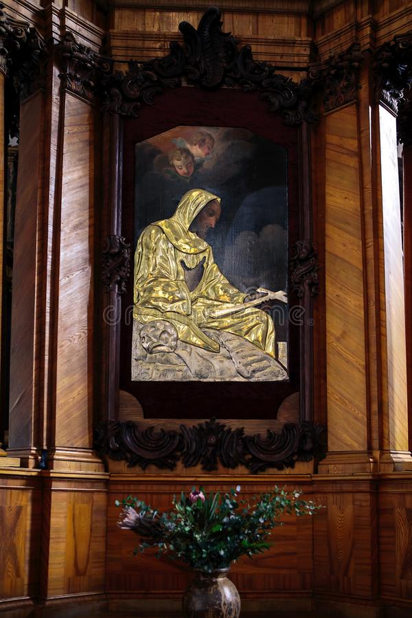 Εκκλησία του ST Francis και του ST Bernard σε Vilnius στοκ εικόνες με δικαίωμα ελεύθερης χρήσης