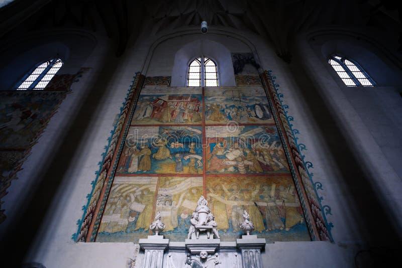 Εκκλησία του ST Francis και του ST Bernard σε Vilnius στοκ φωτογραφία με δικαίωμα ελεύθερης χρήσης