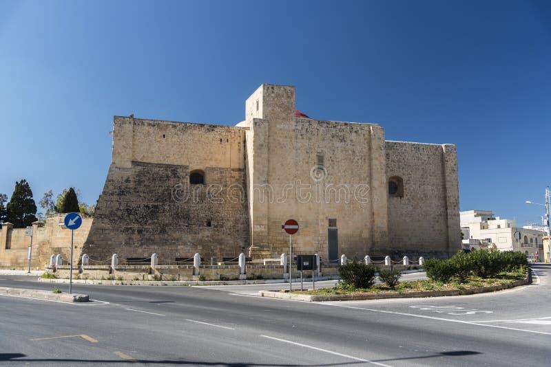 Εκκλησία του ST Gregory, Zejtun, Μάλτα στοκ εικόνα