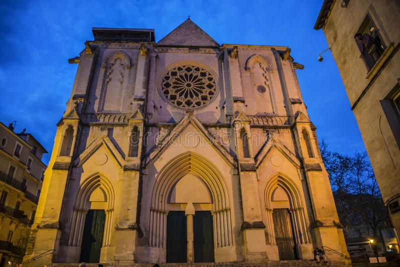 Εκκλησία του ST Rocco, Μονπελιέ, Γαλλία στοκ εικόνες