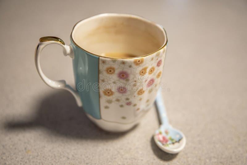 Εκλεκτής ποιότητας φλυτζάνι καφέ στοκ εικόνα