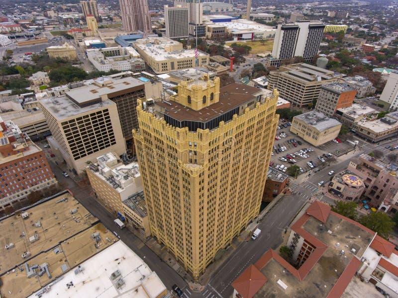 Εναέρια άποψη του San Antonio, Τέξας, ΗΠΑ στοκ φωτογραφίες με δικαίωμα ελεύθερης χρήσης