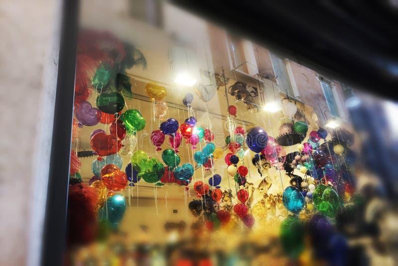 Ενετικά μπαλόνια γυαλιού στοκ φωτογραφίες