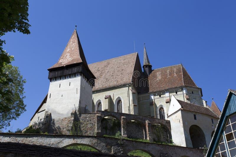 Ενισχυμένη Biertan εκκλησία στην Τρανσυλβανία στοκ εικόνες με δικαίωμα ελεύθερης χρήσης
