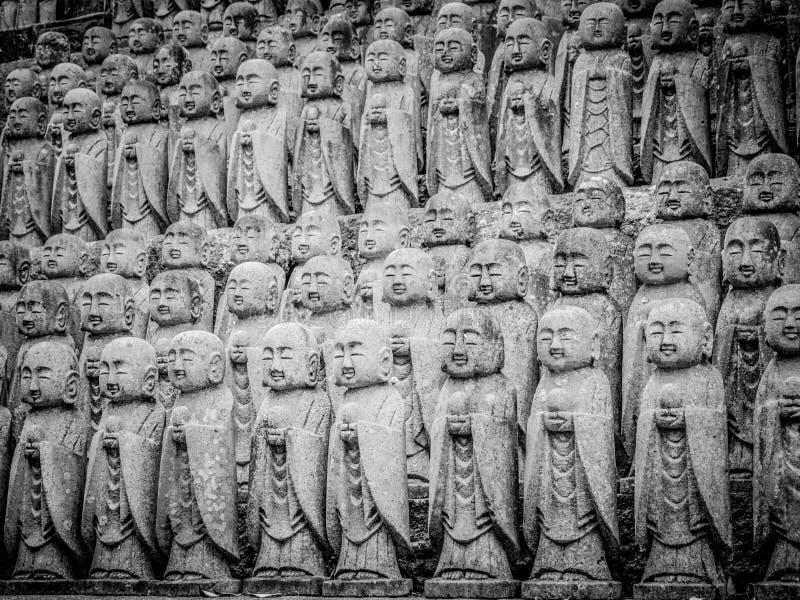 Εντυπωσιακός βουδιστικός ναός Hase Dera σε Kamakura στοκ φωτογραφία με δικαίωμα ελεύθερης χρήσης