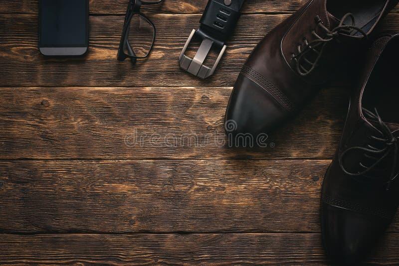 Εξαρτήματα επιχειρηματιών στοκ εικόνα