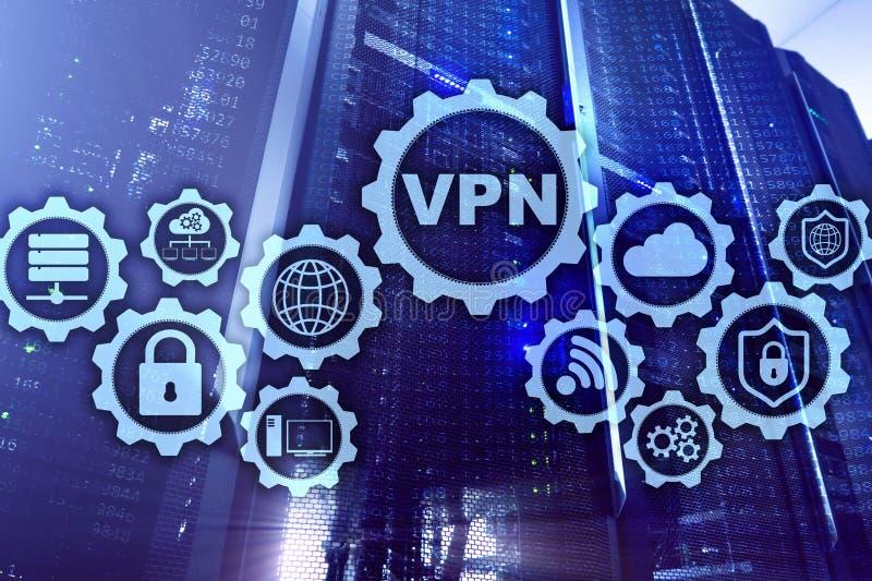 Εξασφαλίστε τη σύνδεση VPN Ιδεατή ιδιωτική δίκτυο ή έννοια ασφάλειας Διαδικτύου στοκ εικόνες με δικαίωμα ελεύθερης χρήσης