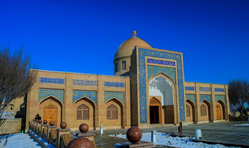 Εξωτερική άποψη αναμνηστικό σύνθετο σε κοντινό baha-ud-DIN Naqshband Bokhari, Μπουχάρα, Ουζμπεκιστάν στοκ εικόνες με δικαίωμα ελεύθερης χρήσης
