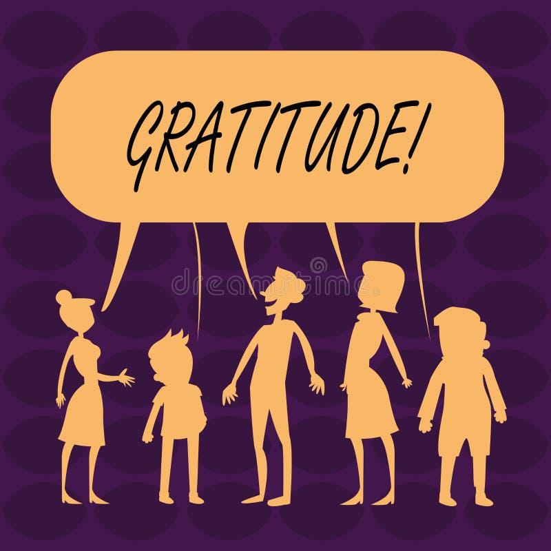 Ευγνωμοσύνη κειμένων γραφής Η έννοια που σημαίνει την ποιότητα της ύπαρξης ευγνώμων ευγνωμοσύνη εκτίμησης αναγνωρίζει ελεύθερη απεικόνιση δικαιώματος