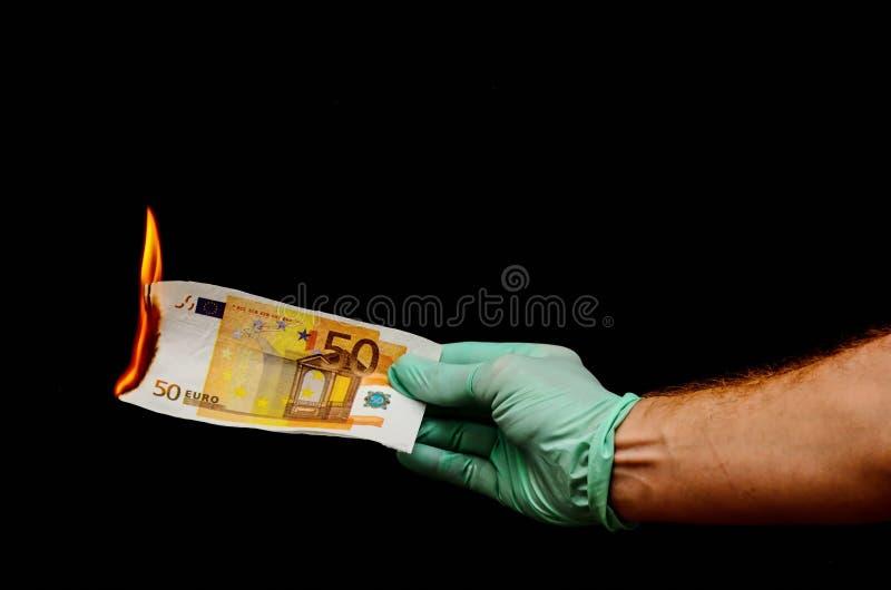 Ευρωπαϊκό ευρο- τραπεζογραμμάτιο χρημάτων στοκ φωτογραφία με δικαίωμα ελεύθερης χρήσης