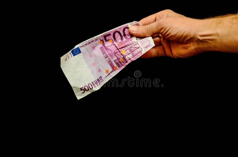 Ευρωπαϊκό ευρο- τραπεζογραμμάτιο χρημάτων στοκ εικόνες με δικαίωμα ελεύθερης χρήσης