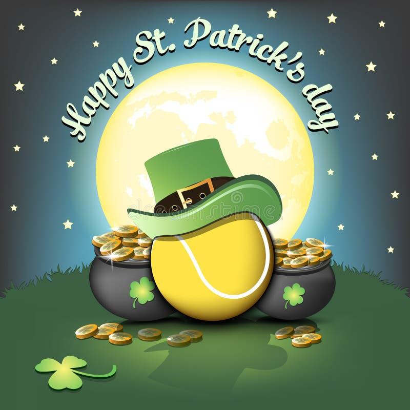 Ευτυχής σφαίρα ημέρας και αντισφαίρισης του ST Patricks ελεύθερη απεικόνιση δικαιώματος