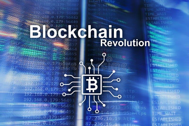 Επανάσταση Blockchain, τεχνολογία καινοτομίας στη σύγχρονη επιχείρηση στοκ φωτογραφίες με δικαίωμα ελεύθερης χρήσης