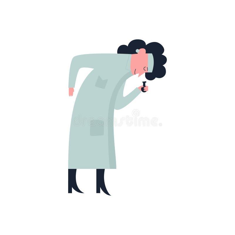 Επιστήμονας, γιατρός, άνθρωποι απεικόνιση αποθεμάτων