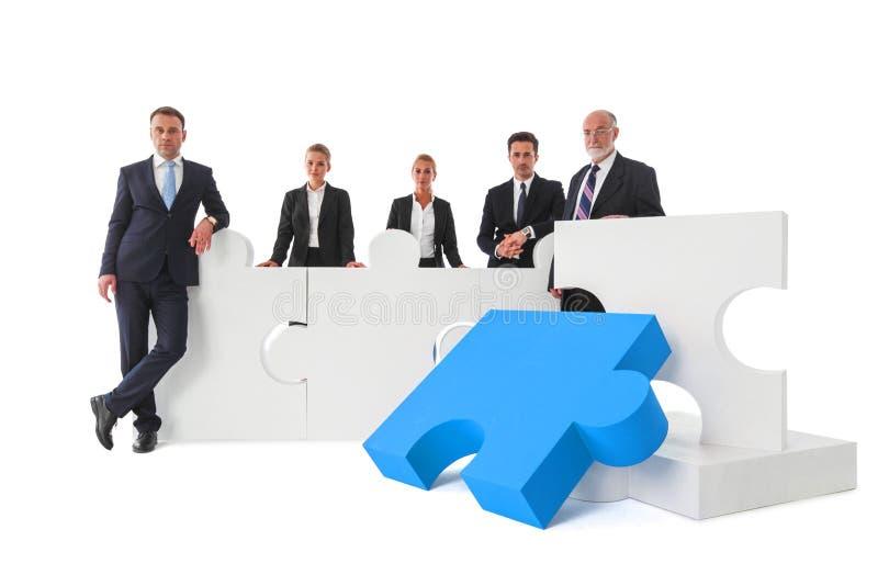Επιχειρησιακή ομαδική εργασία και έννοια συνεργασίας στοκ εικόνες