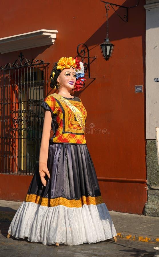 Ζωηρόχρωμες τέχνες σε Oaxaca, Μεξικό στοκ φωτογραφία με δικαίωμα ελεύθερης χρήσης