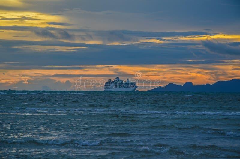 Ηλιοβασίλεμα στο νησί Samui, Ταϊλάνδη στοκ φωτογραφίες με δικαίωμα ελεύθερης χρήσης