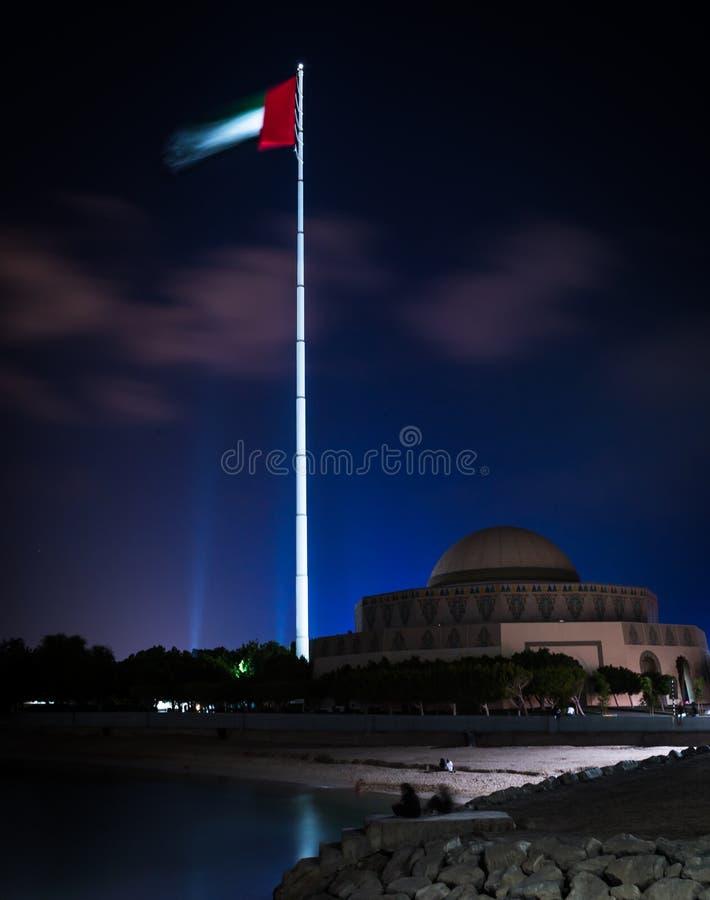 Ημέρα σημαιών Ε.Α.Ε. στοκ φωτογραφίες με δικαίωμα ελεύθερης χρήσης