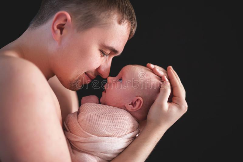 Ημέρα πατέρων, εορτασμός που τιμά τους πατέρες και που γιορτάζει την πατρότητα στοκ φωτογραφία