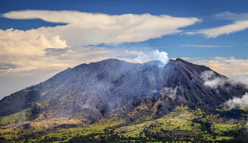 Ηφαίστειο Turrialba στη Κόστα Ρίκα στοκ φωτογραφία με δικαίωμα ελεύθερης χρήσης