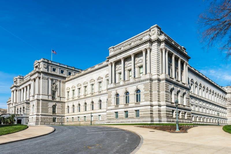 Η βιβλιοθήκη του Κογκρέσου στην Ουάσιγκτον Δ Γ στοκ φωτογραφίες