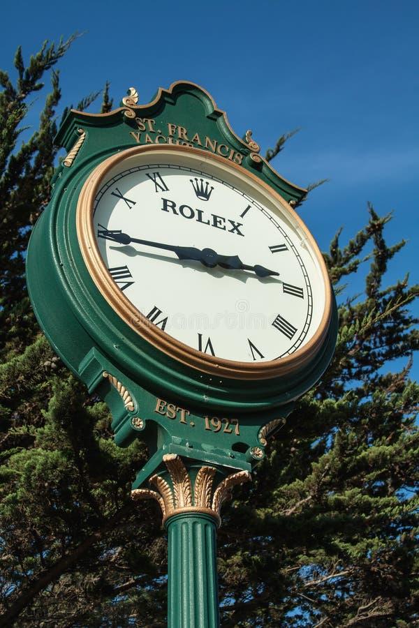 Η μαρίνα του ST Francis Σαν Φρανσίσκο πύργων ρολογιών στοκ φωτογραφία με δικαίωμα ελεύθερης χρήσης