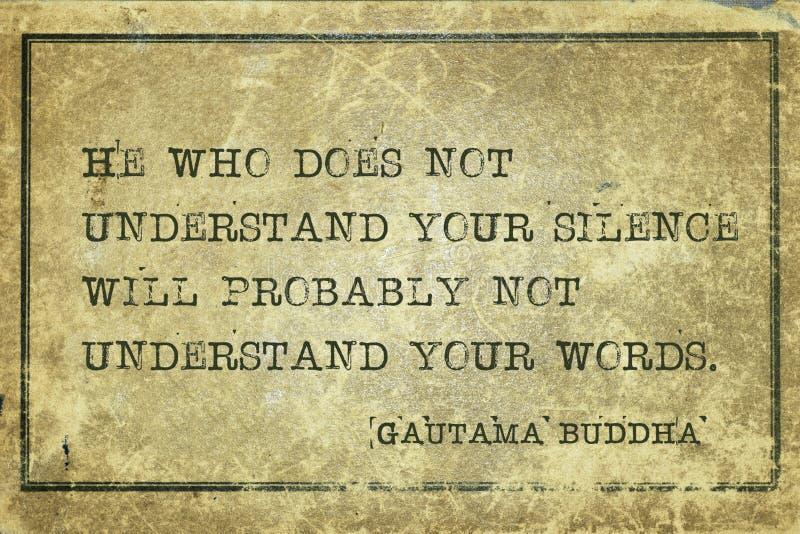 Η σιωπή σας Βούδας στοκ φωτογραφίες με δικαίωμα ελεύθερης χρήσης