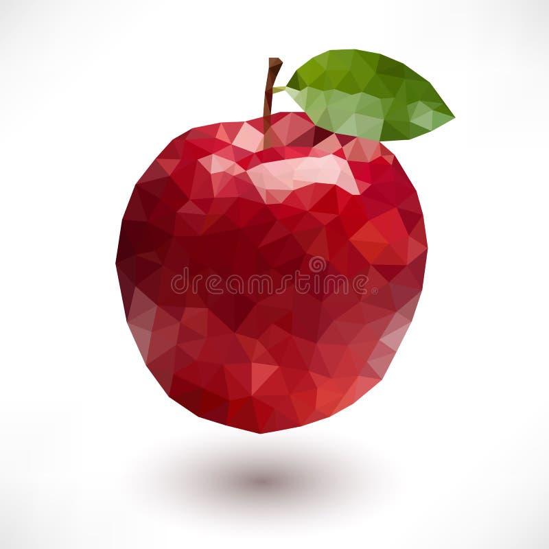 Η χαμηλή πολυ Apple απεικόνιση αποθεμάτων
