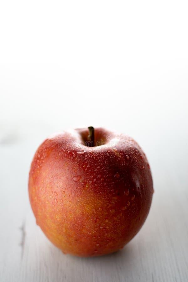 Η υγρή κόκκινη Apple στοκ φωτογραφίες με δικαίωμα ελεύθερης χρήσης