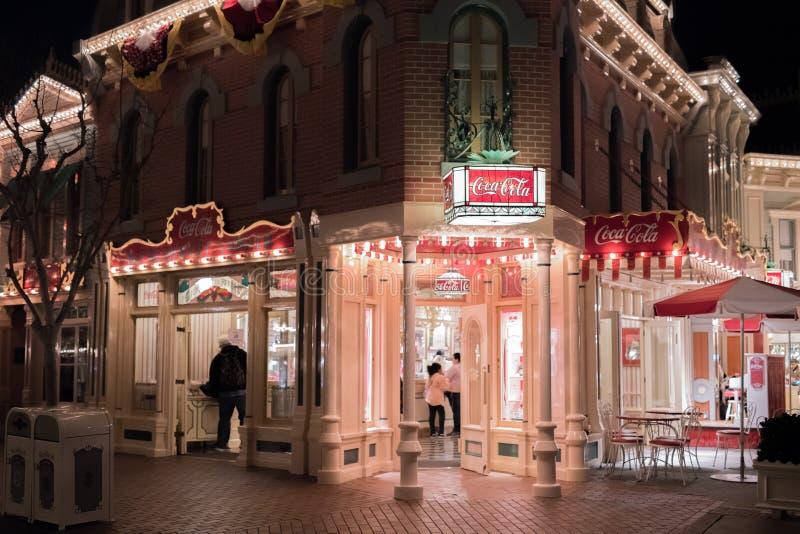Θεματικό πάρκο θερέτρου Disneyland στο Αναχάιμ, Καλιφόρνια στοκ φωτογραφίες με δικαίωμα ελεύθερης χρήσης