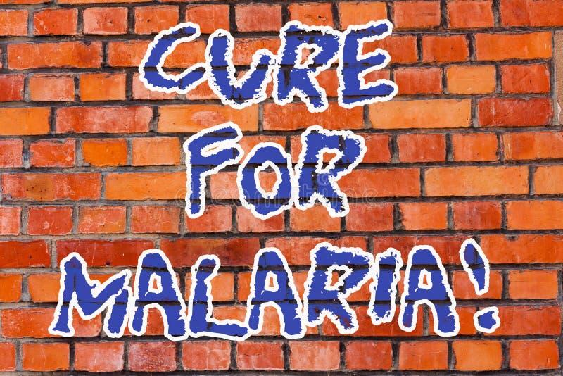 Θεραπεία κειμένων γραψίματος λέξης για την ελονοσία Επιχειρησιακή έννοια το ομοειδές φάρμακο Primaquine που χρησιμοποιείται για ε στοκ εικόνες με δικαίωμα ελεύθερης χρήσης